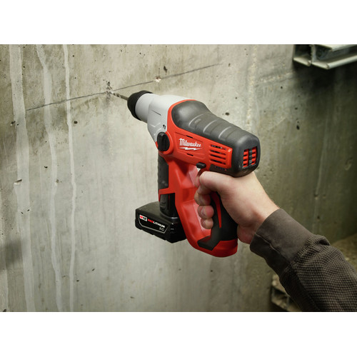 Factory Reconditioned Milwaukee 2412-80 M12 Lithium-Ion 1/2 in. SDS-Plus Rotary Hammer Kit (Tool Only) image number 5