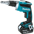 Makita XSF03T 18V LXT 5.0 Ah Lithium-Ion Brushless Cordless Drywall Screwdriver Kit image number 1
