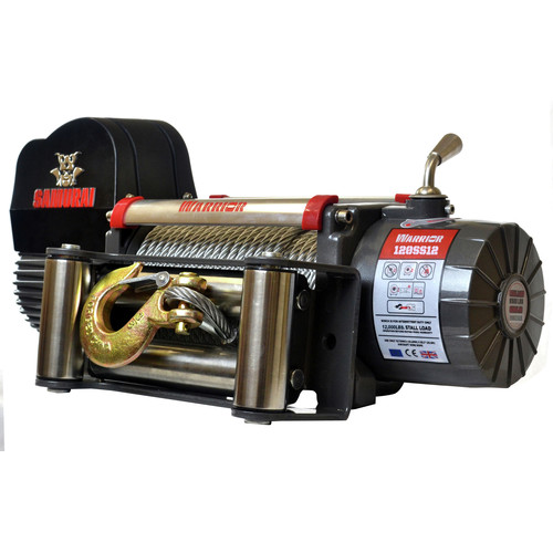 Warrior Winches S12000 12,000 lb. Samurai Series Planetary Gear Winch image number 0