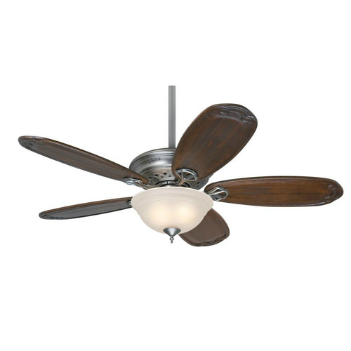Hunter 54074 Teague 54 in. Traditional Antique Pewter Blackened Pecan Indoor Ceiling Fan with 2 Lights