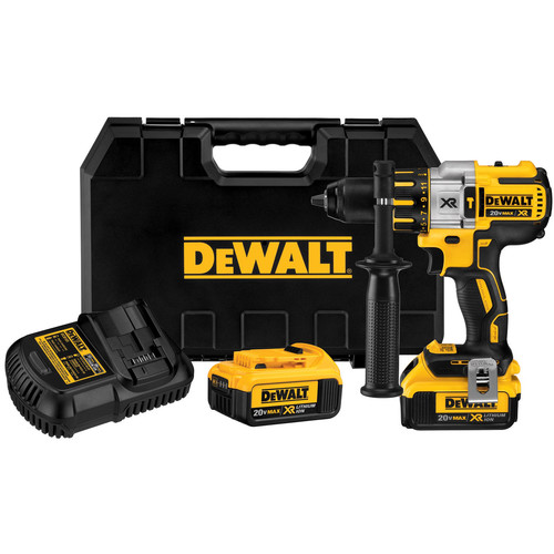 Factory Reconditioned Dewalt DCD995M2R 20V MAX XR Cordless Lithium-Ion 3-Speed 1/2 in. Brushless Hammer Drill Kit