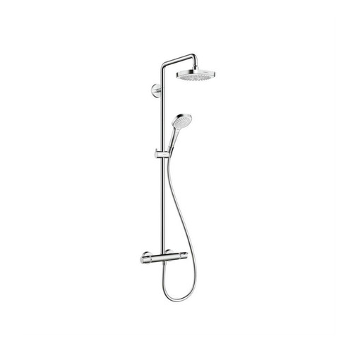 Hansgrohe 27257821 Croma Shower System (Brushed Nickel)