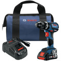 Factory Reconditioned Bosch GSB18V-535CB15-RT 18V Lithium-Ion Brushless 1/2 in. Cordless Hammer Drill Driver Kit (4 Ah) image number 0