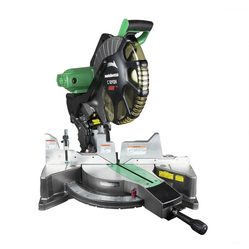 Metabo HPT C12FDHS 15 Amp Dual Bevel 12 in. Corded Miter Saw with Laser Guide image number 0