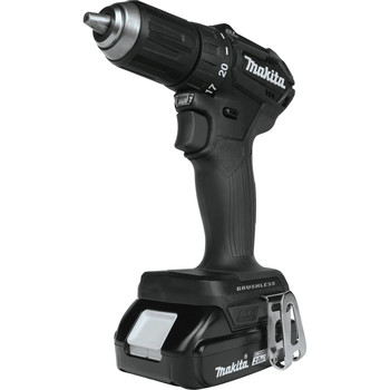 Makita XFD11RB 18V LXT Lithium-Ion Brushless Sub-Compact 1/2 in. Cordless Drill Driver Kit (2 Ah) image number 2