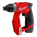 Factory Reconditioned Milwaukee 2505-82 M12 FUEL Brushless Lithium-Ion 3/8 in. Cordless Installation Drill Driver Kit (2 Ah) image number 3