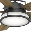Casablanca 59359 56 in. Caneel Bay Aged Steel Ceiling Fan with Light and Wall Control image number 6