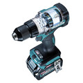 Makita GPH01D 40V Max XGT Brushless Lithium-Ion 1/2 in. Cordless Hammer Drill Driver Kit (4 Ah) image number 2