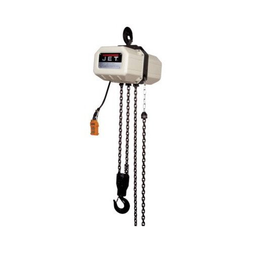 JET 1/2SS-3C-15 1/2 Ton 3 Ph15 ft. Lift 230V/469V Prewired 460V