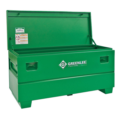 Greenlee 50233637 20 cu-ft. 60 x 24 x 25 in. Storage Chest with Tray image number 0