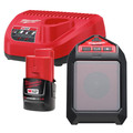 Milwaukee 2592-21 M12 12V Wireless Jobsite Speaker Kit with Battery & Charger
