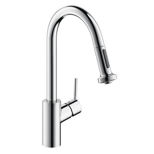 Hansgrohe 14877001 Talis Centerset Kitchen Faucet (Chrome) image number 0