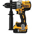 Dewalt DCD996P2 20V MAX XR Lithium-Ion Brushless 3-Speed 1/2 in. Cordless Hammer Drill Kit (5 Ah) image number 2