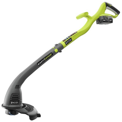 Factory Reconditioned Ryobi ZRP2030 ONE Plus 18V Cordless Lithium-Ion 10 in. Curved Shaft String Trimmer