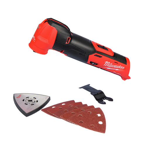 Milwaukee 2526-20 M12 FUEL Brushless Lithium-Ion Cordless Oscillating Multi-Tool (Tool Only) image number 0