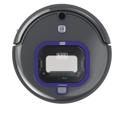 Black & Decker HRV425BLP PET Lithium Robotic Vacuum with LED and SMARTECH