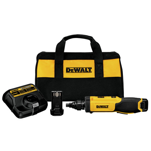 Dewalt DCF681N2 8V MAX Cordless Lithium-Ion Gyroscopic Screwdriver with Conduit Reamer image number 0