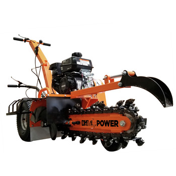 Detail K2 OPT118 18 in. 7 HP Trencher with KOHLER CH270 Command PRO Commercial Gas Engine