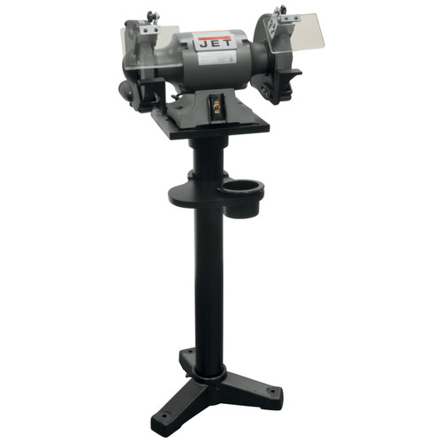 JET JBG-10A 115V 10 in. Shop Bench Grinder and JPS-2A Stand image number 0