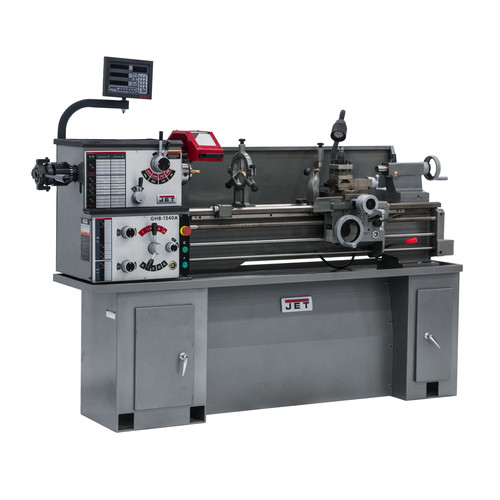 JET 321127 GHB-1340A 230V Head Bench Lathe with ACU-RITE 200S DRO, Taper Attachment and Collet Closer image number 0