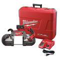 Milwaukee 2729-21 M18 FUEL Cordless Lithium-Ion Deep Cut Band Saw with XC 5.0 Ah Battery image number 0