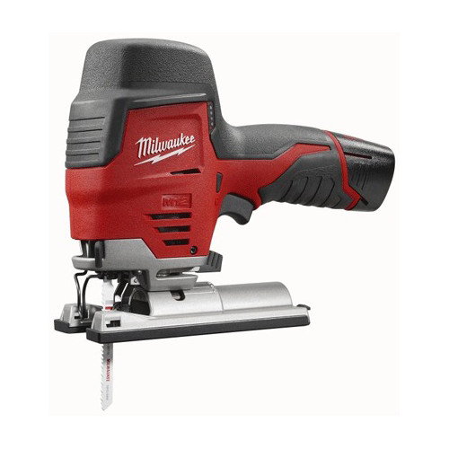 Factory Reconditioned Milwaukee 2445-81 M12 12V Cordless Lithium-Ion High Performance Hybrid Grip Jigsaw