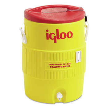 Igloo 4101 10 GAL YELLOW/RED PLASTIC IND