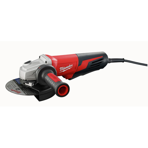 Milwaukee 6161-31 6 in. 13 Amp Paddle Switch Small Angle Grinder