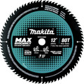 Makita B-66999 12 in. 80T Carbide-Tipped Max Efficiency Miter Saw Blade image number 0