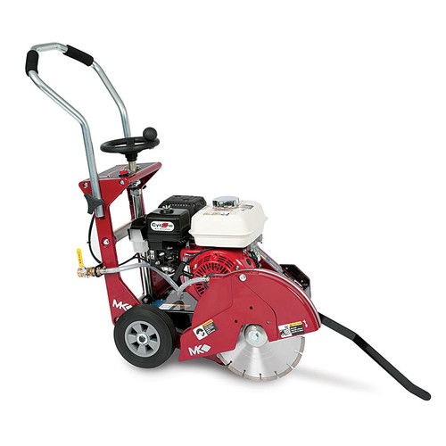 MK Diamond CX-3H 14 in. Walk Behind Concrete Saw