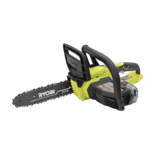 Factory Reconditioned Ryobi ZRP547 ONE Plus 18V Cordless 10 in. Chainsaw with LithiumPlus Battery