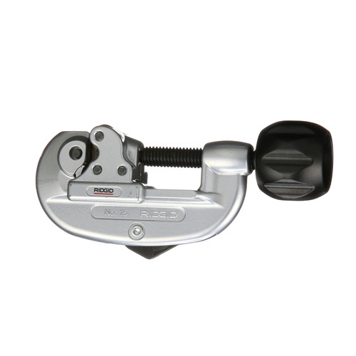 Ridgid 15 1-1/8 in. Capacity Screw Feed Tubing & Conduit Cutter with H-D Wheel image number 0