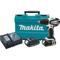 Factory Reconditioned Makita XFD01RW-R 18V LXT Lithium-Ion Variable 2-Speed 1/2 in. Cordless Drill Driver Kit (2 Ah) image number 0