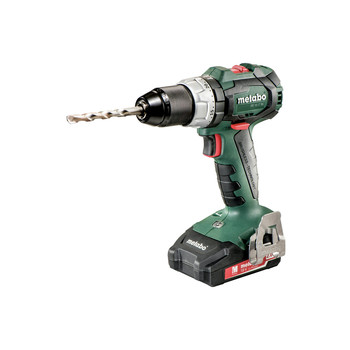 Metabo 602316520 18V LT SB 18 BL Lithium-Ion Brushless 1/2 in. Cordless Hammer Drill kit (2 Ah) image number 1