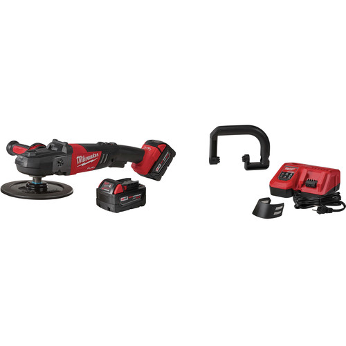Milwaukee 2738-22 M18 FUEL Lithium-Ion 7 in. Variable Speed Polisher Kit image number 0