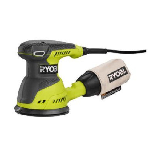 Factory Reconditioned Ryobi ZRRS290G 2.6 Amp 5 in. Random Orbit Sander (Green)