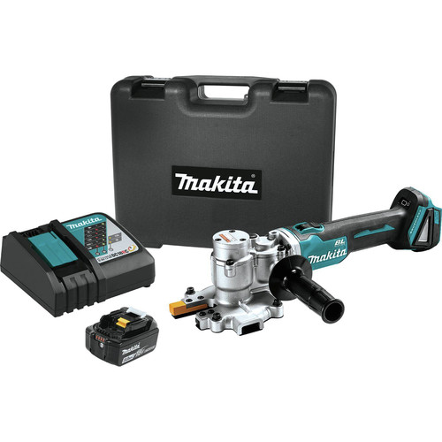 Makita XCS06T1 18V LXT Lithium-Ion 5.0 Ah Brushless Steel Rod Flush-Cutter Kit image number 0