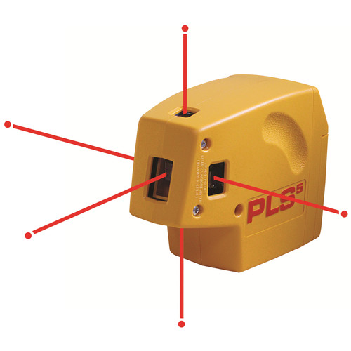Pacific Laser Systems PLS5 5-Beam Laser Plumb