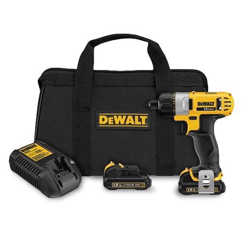 Factory Reconditioned Dewalt DCF610S2R 12V MAX Cordless Lithium-Ion 1/4 in. Hex Chuck Screwdriver Kit