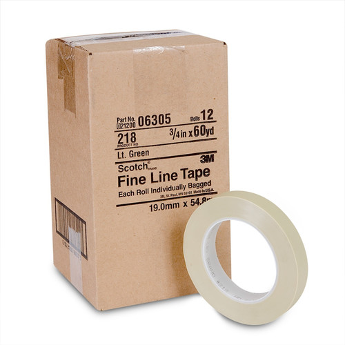 3M 6305 Scotch Fine Line Tape 218 3/4 in. x 60 yd image number 0