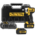 Factory Reconditioned Dewalt DCF880HM2R 20V MAX XR Cordless Lithium-Ion 1/2 in. Impact Wrench Kit with Hog Ring Anvil