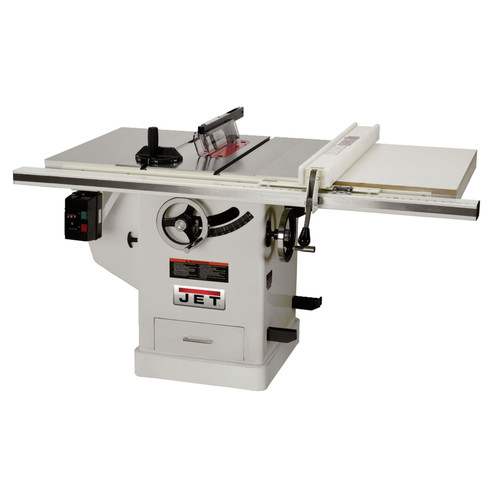 JET JTAS-10XL50-5/1DX 230V 5 HP 10 in. Single Phase Left Tilt Deluxe XACTA Table Saw with 50 in. XACTAFence II