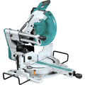 Makita LS1219L 12 in. Dual-Bevel Sliding Compound Miter Saw with Laser