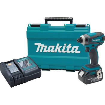 Factory Reconditioned Makita XDT042-R 18V LXT Cordless Lithium-Ion 1/4 in. Impact Driver Kit image number 0