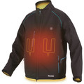 Makita DCJ205ZM 18V LXT Lithium-Ion Heated Jacket (Jacket Only) - Black, M image number 2
