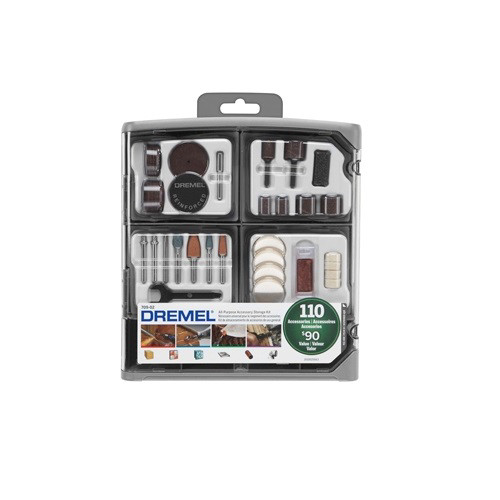 Dremel 709-02 110-Piece All-Purpose Rotary Tool Accessory Kit image number 0