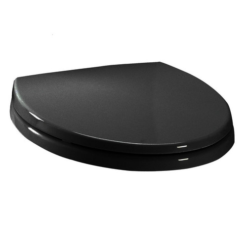 TOTO SS114#51 SoftClose Elongated Polypropylene Closed Front Toilet Seat & Cover (Ebony)