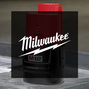 FREE Milwaukee M12 3.0 Ah Battery