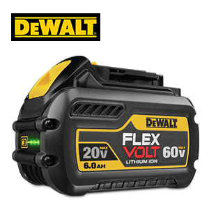 FREE DeWALT FLEXVOLT 6 Ah Battery