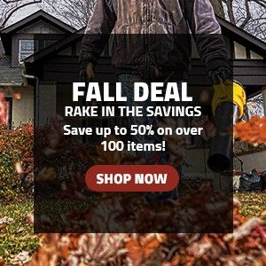 Fall Deals - Rake in the Savings